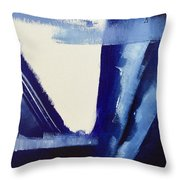 Blue Abyss Throw Pillow