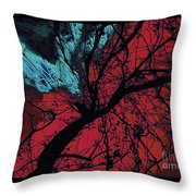 Wings Of Yoga Throw Pillow