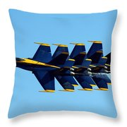 Blue Angels 1-4 Throw Pillow