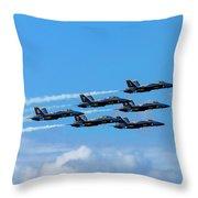 Blue Angels IIi Throw Pillow