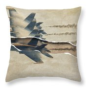 Blue Angels Rip Throw Pillow