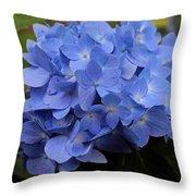 Blue Ballet Throw Pillow