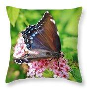 Blue Beauty 1 Throw Pillow
