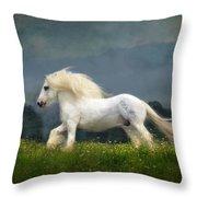 Blue Billy C1 Throw Pillow
