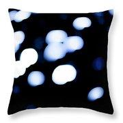 Blue Black, No.1 Throw Pillow by Eric Christopher Jackson