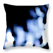 Blue Black, No.3 Throw Pillow by Eric Christopher Jackson