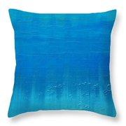 Blue Blue, Bleu Throw Pillow