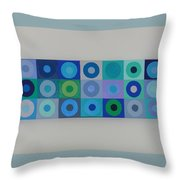 Blue By You Throw Pillow