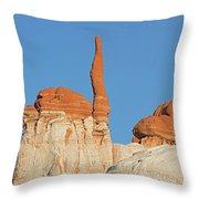 Blue Canyon Finger V Throw Pillow