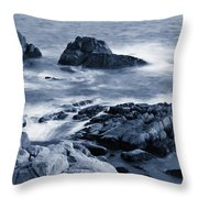 Blue Carmel Throw Pillow