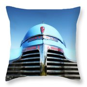 Blue Chevrolet Master Deluxe Throw Pillow
