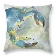 Blue Crab. Throw Pillow