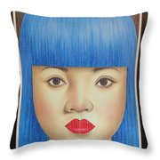 Blue Dream 78x55 Throw Pillow