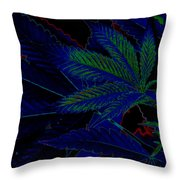Blue Dream Throw Pillow by Savannah Fonner