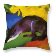Blue Fox 1911 Throw Pillow