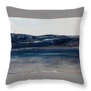 Blue Headland Back Home Throw Pillow