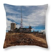 Blue Hill Weather Observatory 2 Throw Pillow
