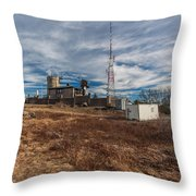 Blue Hill Weather Observatory Throw Pillow