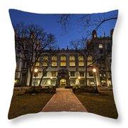 Blue Hour Harper Throw Pillow