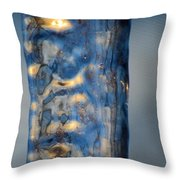 Blue Ice 6 Throw Pillow