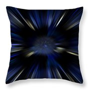 Blue Jets Pattern Throw Pillow