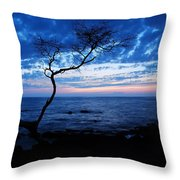 Blue Kona Throw Pillow