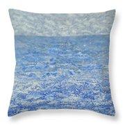 Blue Majesty Throw Pillow