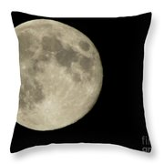 Blue Moon 2012 Throw Pillow