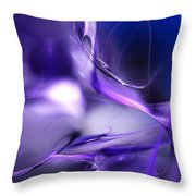 Blue Moon And Wine Spirits Throw Pillow