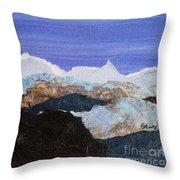 Blue Mountains II Throw Pillow