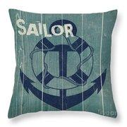 Blue Nautical-jp3614 Throw Pillow