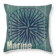 Blue Nautical-jp3616 Throw Pillow