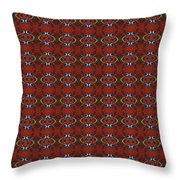 Blue Note Repeat Throw Pillow