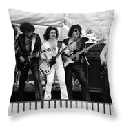 Blue Oyster Cult Throw Pillow