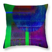 Blue Planet Throw Pillow