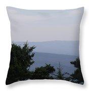 Blue Ridge Horizon Throw Pillow