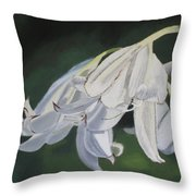 Blue Ridge Lilly Throw Pillow