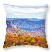 Blue Ridge Mountains 1 Throw Pillow