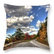 Blue Ridge Parkway, Buena Vista Virginia 4 Throw Pillow