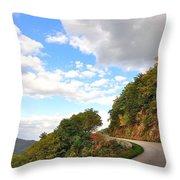 Blue Ridge Parkway, Buena Vista Virginia 6 Throw Pillow
