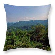 Blue Ridge Pkwy Throw Pillow
