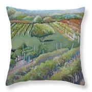 Blue Ridge Vineyards 4.0 Throw Pillow