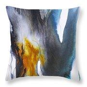 Blue River 2 Throw Pillow
