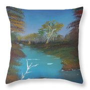 Blue River Two Throw Pillow