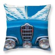 Blue Romeo Throw Pillow