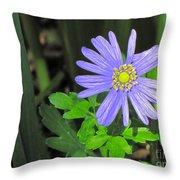 Blue Sailor Throw Pillow