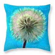 Blue Spirit Throw Pillow