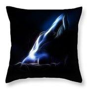 Blue Stretch 4023 Throw Pillow