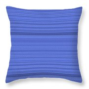 Blue Stripes Art On Gifts Shirts Pillows Tote Bags Phone Cases Shower Curtains Duvet Covers  Color S Throw Pillow