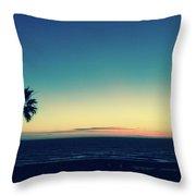 Blue View Throw Pillow